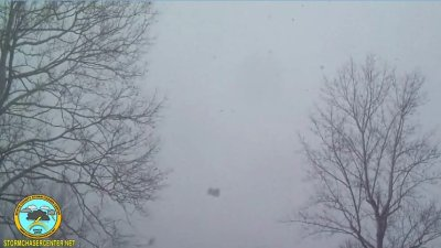 Heavy Snowfall in Rosemount, Ohio