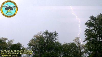 Storm that swept through Rosemount, Ohio