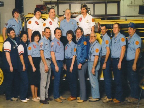 RVFD Group Picture 1992