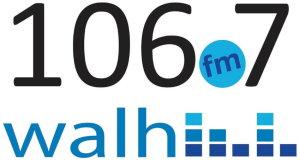 WALH 106.7 Logo