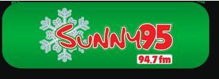 Sunny95 Christmas Button